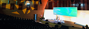 Sono supplies the AV equipment for IESE Global Alumni Madrid