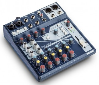 Soundcraft Notepad 8FX earpro