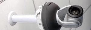 Soporte a techo QuickCAT de Vaddio para instalación de cámaras AV profesionales
