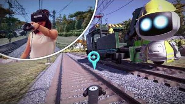 Virtualware simulador VR formacion Adif