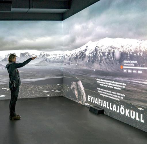 Vivitek Centro Lava Islandia