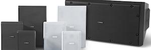 Bosch serie LB 20: altavoces comerciales compactos para instalación en interior y exterior