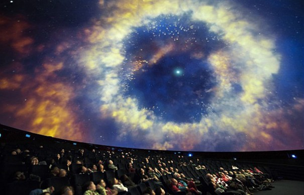 sony planetario Cite des Sciences paris