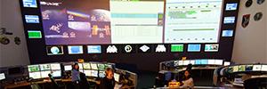 El Centro de Control Columbus actualiza su sistema de proyección con el E-Vision 8500