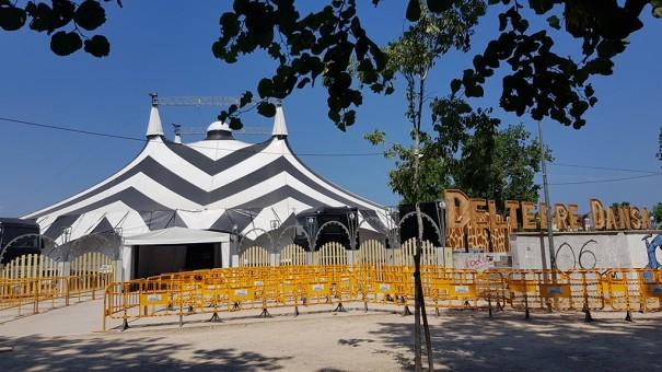 Deltebre Dance Festival utilizza Vivitek DU7090Z