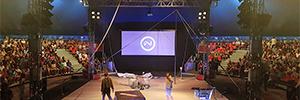El Festival Deltebre Dansa fomenta las artes escénicas con Vivitek y Charmex