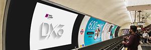 NEC proporciona soluciones de visualización al canal de medios digitales Hello London DX3