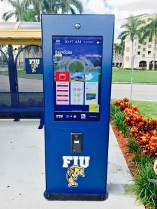 Intermedia Touch kiosco outdoor en FIU
