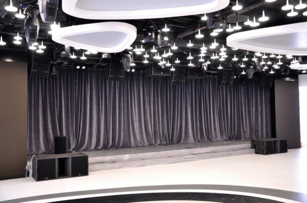 L Acoustics Mercury Space Moscow