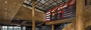 Ladorian ayuda a implementar la solución de digital signage en Castellana 81