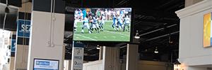 Los Jacksonville Jaguars instalan en su estadio una pantalla colgante NanoLumens de tres lados