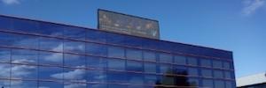 Alcalá de Henares celebra la Navidad en una pantalla Led exterior