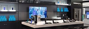 Samsung inaugura su mayor tienda de experiencia tecnológica en España