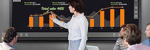 Samsung Smart e-Board incorpora función táctil para una escritura más ágil e interactiva