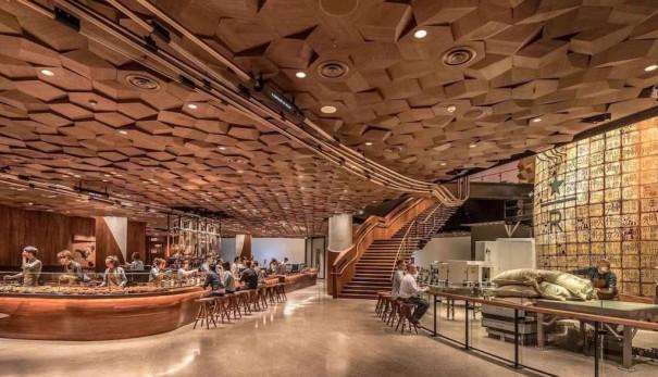 Starbucks Roastery Experience shanghai