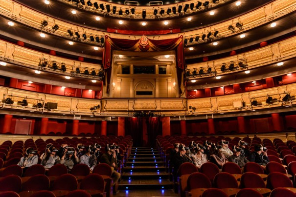 Teatro Real Samsung VR