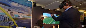 Rafa Nadal y Telefónica llevan al tenis tecnologías de realidad virtual e interactividad 3D