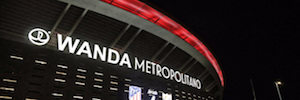 Wanda Metropolitano makes the phone the first fully digital IP stadium in Europe