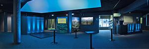 AV Stumpfl controla la infraestructura AV del museo Tales from Iceland