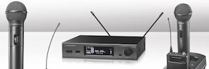 Audio-Technica presenta las nuevas generaciones de microfonía inalámbrica