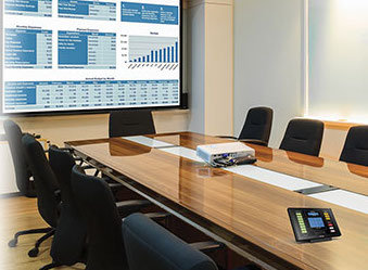 Black Box Will Encourage The Use Of Its Conference Rooms And Control - Conference room table av box