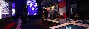 Proyección holográfica como atracción turística de las grandes estrellas del pop inglés