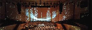 Los proyectores de Christie ayudaron a crear la imaginería visual para el 'Réquiem' de Verdi