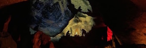 Las Cuevas de Montserrat se abren a la proyección 3D y la iluminación Led para explicar su historia