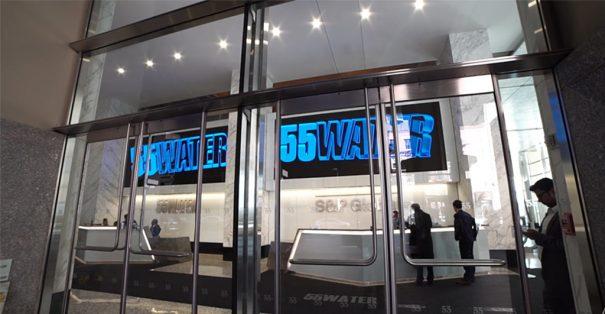 DCBolt y Signagelive en 55 Water Street