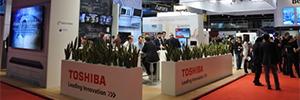 Toshiba acudirá a ISE 2018 con su mayor oferta de cartelería digital