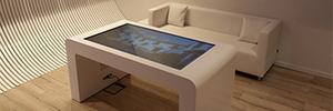 Interactuando diseña una mesa interactiva multitouch para Onlycable