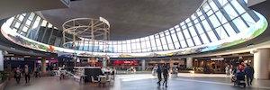 Intu Asturias inaugura la primera pantalla Led circular sensorial de Europa de Unilumin