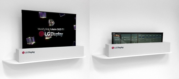 LG TV enrollable OLED 65 pulgadas
