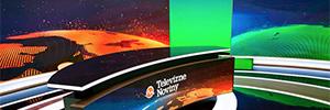 Los videowalls Led de Leyard dan una nueva imagen a los informativos de TV Markíza