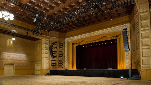 Meyer Sound Kridel Grand Ballroom del Portland Art Museum