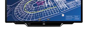 Sharp presenta su primera pantalla interactiva 4K UHD Aquos Board