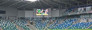 El Estadio Nacional de Fútbol en Windsor Park renueva su equipo de visualización con Absen
