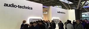 Audio-Technica en ISE 2018: innovación en microfonía y nuevo firmware para ATUC-50IU