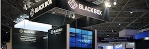 Black Box makes its stand ISE 2018 in a fully connected Conference room