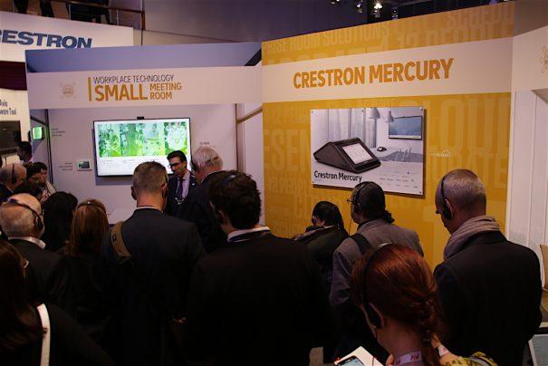 Crestron en ISE 2018