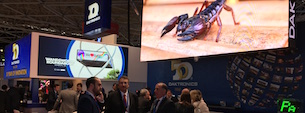 Daktronics displays its new generation of technology in ISE 2018 Led screens
