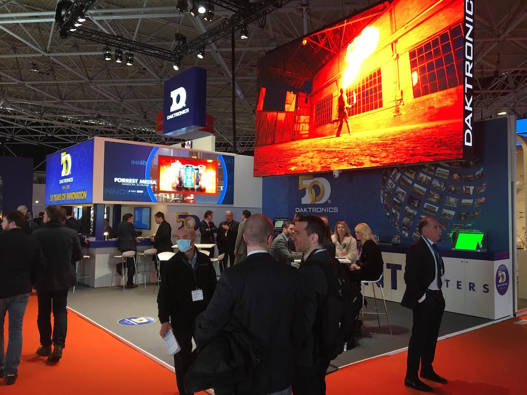Daktronics displays its new generation of technology in ISE