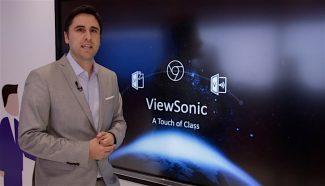 Jose Miguel Martinez, sales manager AV ViewSonic Iberia ISE 2018