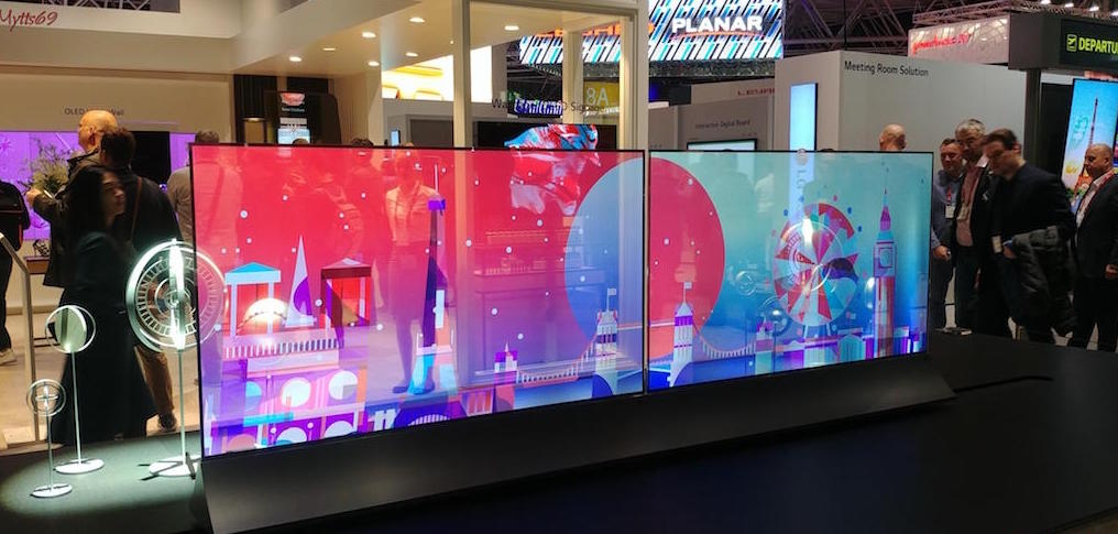 Digital Signage For The Future Of Lg In Ise 2018