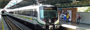 Icon Multimedia lleva su software de digital signage al Metro de Medellín