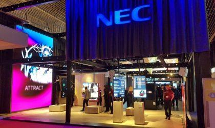 NEC Display ISE 2018