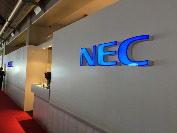 NEC Display ISE 2018