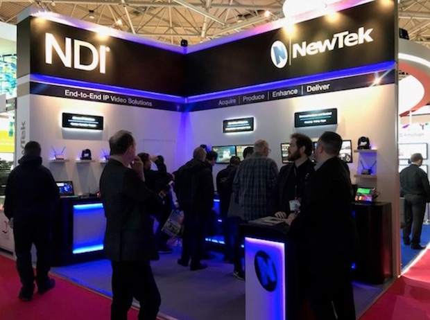 Connect Spark converters and camera PTZ NDI of NewTek debuts