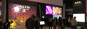 Optoma attends ISE with their new ultra-thin Led Display screens
