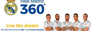 El Real Madrid ofrece a sus seguidores un canal 360º con realidad virtual